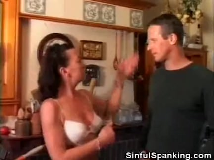 Older Woman Steff Loves Some Spanking